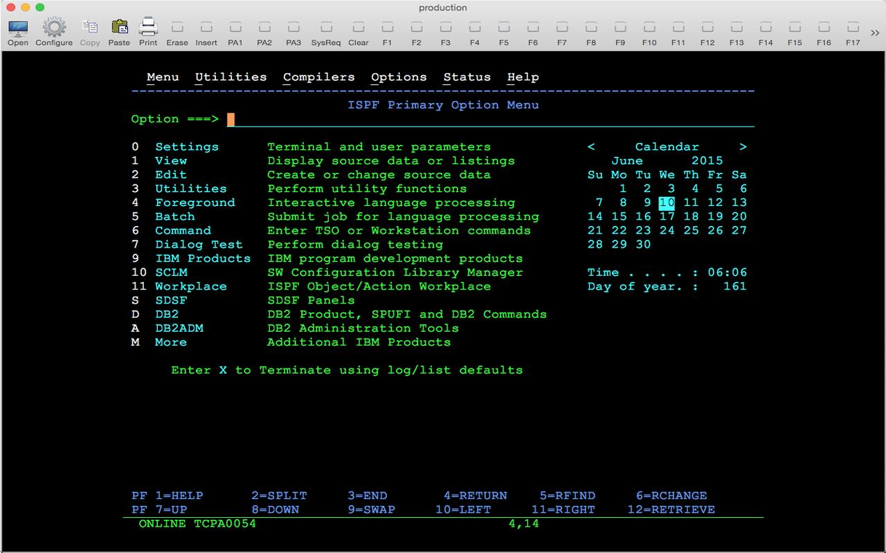 MochaSoft - TN3270 for Mac OS X - Download a free 30 days